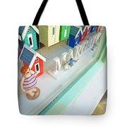 Beach Huts For Sale Tote Bag