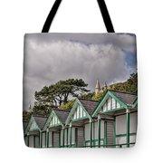 Beach Huts Langland Bay Swansea 3 Tote Bag