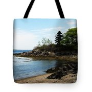 Beach In Maine Tote Bag