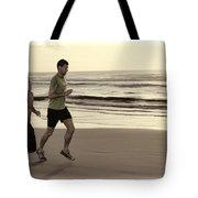 Beach Joggers Tote Bag