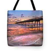 Beach Lace Tote Bag