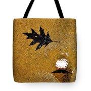 Beach Leafs Tote Bag