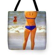 Beach Mom Tote Bag