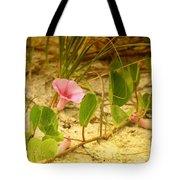 Beach Morning Glory Tote Bag