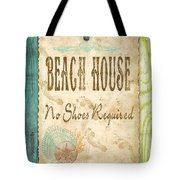 Beach Notes-d Tote Bag by Jean Plout