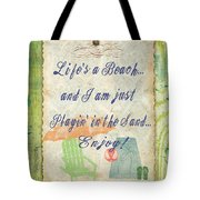 Beach Notes-e Tote Bag