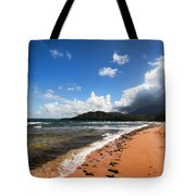 Beach Of Color Tote Bag