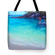 Beach Painting - A Day To Remember Tote Bag