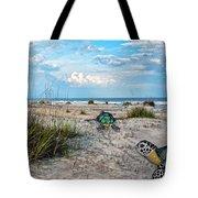 Beach Pals Tote Bag by Betsy Knapp