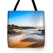 Beach Paradise - Beautiful And Secluded Secret Beach In Maui. Tote Bag