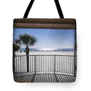 Beach Patio Tote Bag