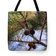 Beach Pine Tote Bag