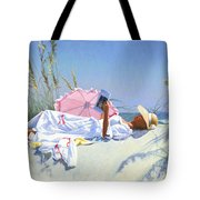 Beach Recliner Tote Bag
