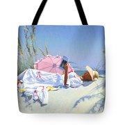 Beach Recliner Tote Bag