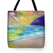Beach Reflection Tote Bag