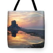 Beach Reflections Tote Bag by Michael Thomas