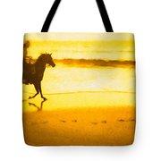 Beach Rider Tote Bag
