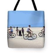 Beach Riders Tote Bag