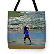 Beach Run Tote Bag