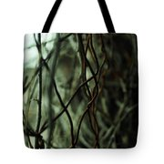 Beach Rust Abstract Tote Bag