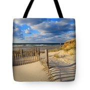 Beach Shadows  Tote Bag