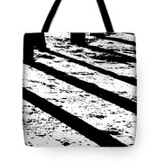 Beach Shadows Tote Bag