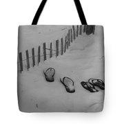 Beach Shoes Tote Bag