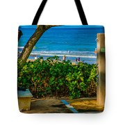 Beach Shower Tote Bag