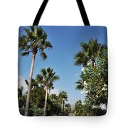 Beach Sidewalk Tote Bag