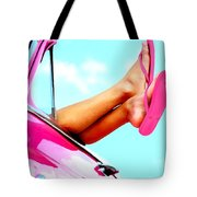 Beach Slippers - Summer Time Serie Tote Bag