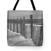 Beach Snow  Tote Bag