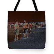 Beach Solar Series Vii Usa Tote Bag
