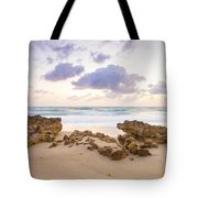 Beach Sunrise At Jupiter Island Florida Tote Bag