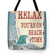 Beach Time 1 Tote Bag