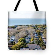 Beach Town Tote Bag