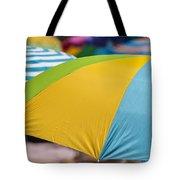 Beach Umbrella Rainbow 1 Tote Bag