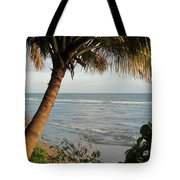 Beach Under The Palm 1 Tote Bag