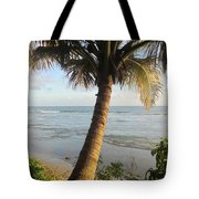 Beach Under The Palm 3 Tote Bag