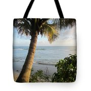 Beach Under The Palm 4 Tote Bag