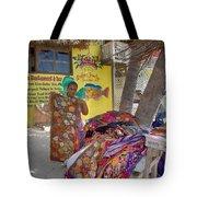 Beach Vendor Tote Bag