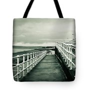 Beach Walkway Tote Bag by Tom Gowanlock