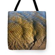 Beach Wave Pattern. Tote Bag