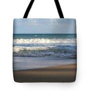 Beach Waves 3 Tote Bag