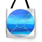 Beach Window Tote Bag