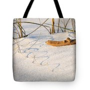 Beach Wood And Curly-q Tote Bag