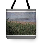Beach Writing Tote Bag