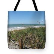Beachaccess Tote Bag