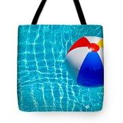 Beachball On Pool Tote Bag