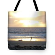 Beachcomber Encounter Tote Bag