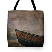 Beached Dinghy Tote Bag